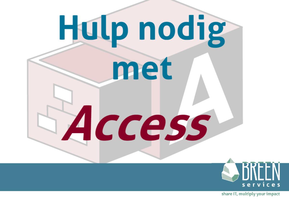 Access hulp ontwikkelaar